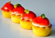 Italian Cupcakes For Morning Breakfast Stock Photo