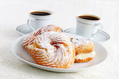 Italian deep fried pastries Stock Photography