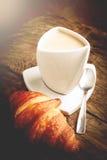 Italian delicious breakfast Stock Photo