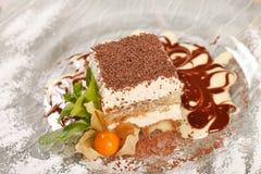 Italian dessert Royalty Free Stock Photo