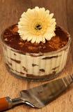 Italian dessert tiramissu Stock Image