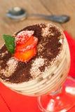 Italian dessert  Tiramisu Stock Image