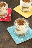 Italian dessert tiramisu Royalty Free Stock Photos