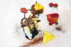 Italian Desserts Stock Photo