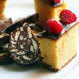 Italian desserts Stock Photos
