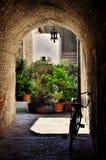 Italian destination, Bevagna, in Umbria region Royalty Free Stock Photo