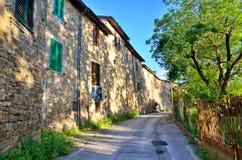Italian destination, Bevagna, in Umbria region Royalty Free Stock Image