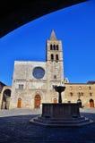 Italian destination, Bevagna, in Umbria region Royalty Free Stock Photos