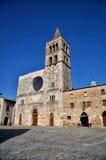 Italian destination, Bevagna, in Umbria region Stock Photos