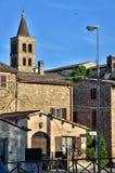 Italian destination, Bevagna, in Umbria region Stock Images