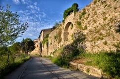 Italian destination, Bevagna, in Umbria region Stock Photography