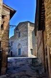 Italian destination, Bevagna, in Umbria region Stock Image