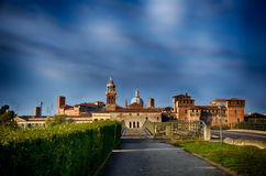 Italian destination: Mantua, Mantova Royalty Free Stock Image