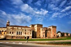 Italian destination: Mantua, Mantova. Historical city of Mantua, Mantova, on Mincio river Stock Photo