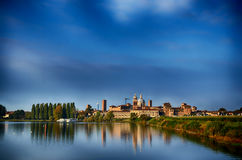 Italian destination: Mantua, Mantova Royalty Free Stock Photos