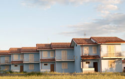 Italian detached houses Royalty Free Stock Image