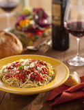Italian dinner Royalty Free Stock Images