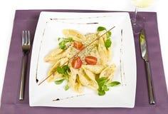 Italian dish - conchiglioni Royalty Free Stock Photo
