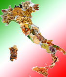 Italian dishes Royalty Free Stock Photos