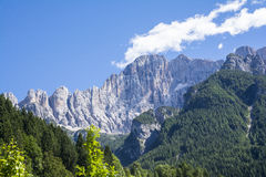 Italian dolomite Stock Photos