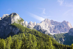 Italian dolomite Royalty Free Stock Photos