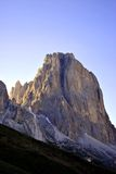 Italian Dolomites. Summer portrait of Italian Dolomites in val di Fassa South Tyrol Alps Italy royalty free stock photography