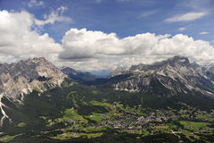 Italian Dolomites. Royalty Free Stock Photo