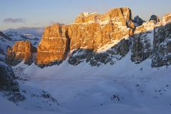 Italian Dolomites Royalty Free Stock Photos