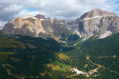 Italian dolomites autumn Royalty Free Stock Photo