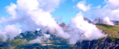 The Italian Dolomites Stock Images