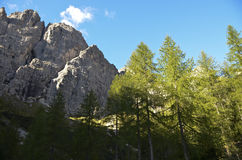 Italian Dolomites Region Royalty Free Stock Images