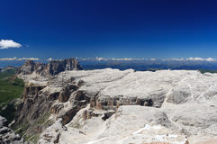 Italian Dolomites - Sella Group Royalty Free Stock Photos