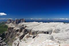 Italian Dolomites - Sella Group Royalty Free Stock Photos