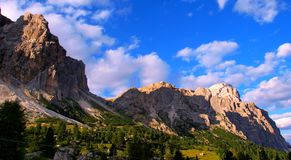 The Italian Dolomites in summer Royalty Free Stock Photography