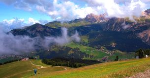 The Italian Dolomites in summer Royalty Free Stock Photos