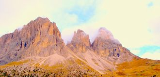 The Italian Dolomites Royalty Free Stock Images