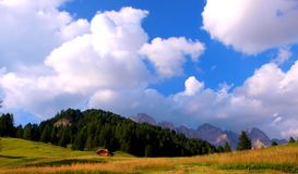 The Italian Dolomites Royalty Free Stock Photos