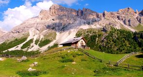 The Italian Dolomites Royalty Free Stock Photography