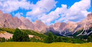 The Italian Dolomites Royalty Free Stock Photo