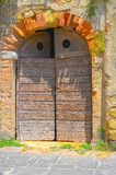 Italian Door Stock Image
