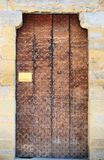 Italian Door Royalty Free Stock Photography