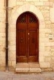 Italian door Stock Photography