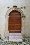 Italian door Royalty Free Stock Photos