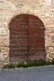 Italian door Royalty Free Stock Image