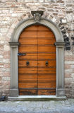 Italian door Stock Photography