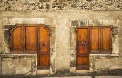 Italian door Stock Images
