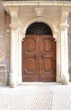 Italian door Stock Photo