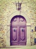 Italian Door Royalty Free Stock Photo