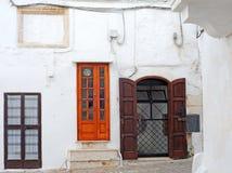 Italian doors Royalty Free Stock Images
