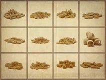 Italian dry pasta Stock Photos